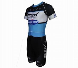 Wholesale Cycling Jersey Customize - Customize 2017 New Men Pro Team Summer Cycling Skinsuit Short Sleeve Jersey Cycling Tights Ciclismo maillot Biker Jumpsuits Cycling Skinsuit