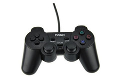 Wholesale Ps2 Controller Wired - Original LOGO Branded PS2 Wired Controller High Quality Game Joystick Wired Joypad For Sony Playstation 2