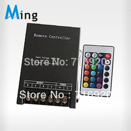 Wholesale High Power Rgb Led Module - 360W High Power 24 keys IR remote controler for LED RGB strips   modules, 4pcs lot free shipping