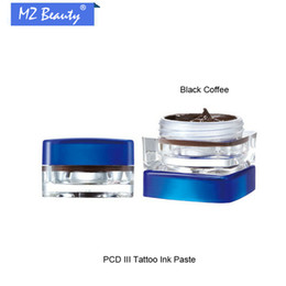 Wholesale Permanent Make Up Pigments - Wholesale- Professional Permanent Makeup Ink Supply For Eyebrow Lip Make up Skin Colors PCD III Tattoo Ink Pigment tattoo paste