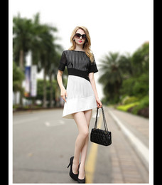 Wholesale Plus Summer Shift Dresses - Fashion swallow tail short sleeve shift dress hollow out lace dress plus size summer dresses for women