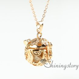 Wholesale Leaf Pendant Gold - leaf openwork essential oil necklace wholesale aromatherapy inhaler perfume pendant wholesale diffuser necklace diffuser necklaces wholesale