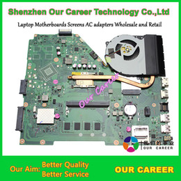 Wholesale I3 Asus Motherboard Laptops - Wholesale-Laptop motherboard for Asus X550CA Laptop Motherboard X550C system board X550CA i3-3217U fully tested