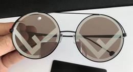 Wholesale Titanium Girl - Women Round Gold Sunglasses 0258 S Designer Sunglasses New with Box