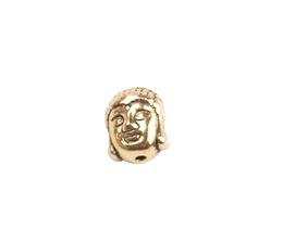 europäische kautschukperlen Rabatt 30PCS Antiqued Stil Buddha Spacer Perlen Großhandel