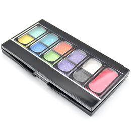 Toptan-Moda Özel Sıcak Satış Yeni Pro 10 Renk Ücretsiz Kargo Makyaj Kozmetik göz farı + 1 renk allık paleti WX # HJ1027W # C01 nereden