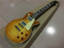 Wholesale 1959 Honey Burst - Hot selling!!! in Stock 1959 R9 honey Burst Standard Electric Guitar with Nashville bridge , high quality guitarra