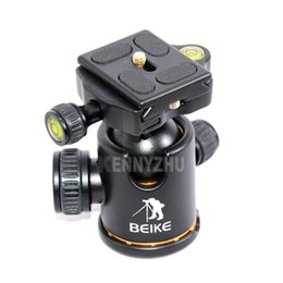 Wholesale Quick Release Head - Professional Universal BK-03A Ball Head Damping Ballhead BK-03 With Quick Release Plate For Tripod Monopod