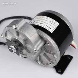 Wholesale Electric Bicycle Bike Motor Kit - 12V250W 24V250W DC E bike Brush Motor Gear Electric Motor For Bicycle Scooter Rear Fork Mid Drive Motors Tricycle Motorcycle Parts Kit