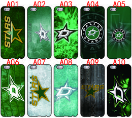 Wholesale Star Galaxy S3 - Dallas Stars For iPhone 6 6S 7 Plus SE 5 5S 5C 4S iPod Touch 5 For Samsung Galaxy S6 Edge S5 S4 S3 mini Note 5 4 3 phone cases