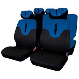 copri sedile auto blu Sconti AUTOYOUTH Auto Coprisedili per auto Protezione Universale Fit Accessori auto Interni Airbag Compatibile Colore blu per Lada Largus