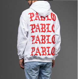 Wholesale Cotton Life - the life of pablo kanye hoodie men hip hop pull paris opening season 3 jackets i feel like pablo