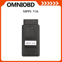 Wholesale Ecu Mpps - Big Pormotion MPPS V16 ECU Chip Tuning for EDC15 EDC16 EDC17 Inkl CHECKSUM with multi-language Hottest Selling