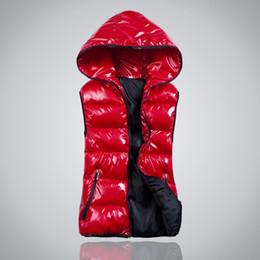 Wholesale Womens Warm Plus Coat - Wholesale-Plus Size XL-4XL New Fashion Winter Vest Down Women Coats Cotton Hooded Warm Sport Casual Womens Vests 7 Colors Outwear Hot 1664