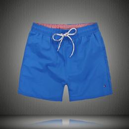 Wholesale Mens Board Shorts Swim - Wholesale Mens Shorts Casual Solid Color Board Shorts Men Summer style bermuda masculina Swimming Shorts Men Sports Short free shipping