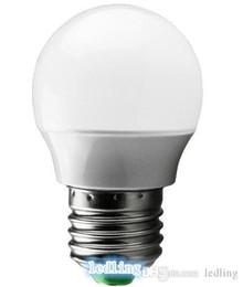Wholesale Plastic Spotlights - LED Bulbs New E27 E26 GU10 E14 B22 4w led bulb led light led spotlight 2835led nice power Engineering Plastics shell DHL