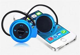 2019 auricolare bluetooth samsung s5 Mini 503 Cuffie stereo Bluetooth senza fili Cuffie vivavoce Sport Musica auricolare in-ear per Iphone 6 5S Samsung S4 S5 HTC LG US05 sconti auricolare bluetooth samsung s5