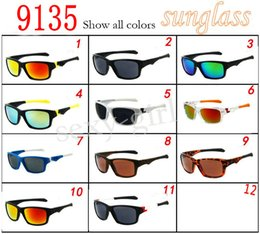 Wholesale Half White Color - Time Limited Buying Men's Sunglasses 9135 Jupiter Squared Sunglasses Colored lenses 100% VU 400 1piece order Free shipping