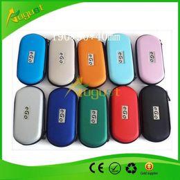 Wholesale Ego Ce5 Case Color - ego bag case clectric cigarette bag sneak a toke click n vape ce4 ce5 electric cigarette with different color large size 190*90*40mm