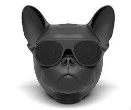 Wholesale Mini Smartphones - Mini Bluetooth Speaker Aero bull dog Wireless Speakers Portable Stereo Subwoofer Handsfree Bulldog Speaker for Smartphones Retail Packing