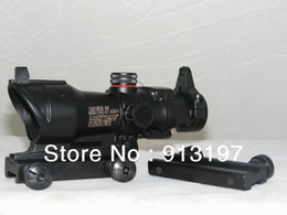 Wholesale Trijicon Green Dot - Tactical Trijicon ACOG Style 1x32 Red Green Dot Rifle Scope