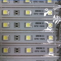 знак красного света Скидка Superbright светодиодный модуль свет лампы SMD 5050 IP65 водонепроницаемый светодиодный свет модуль знак светодиодные задние фонари SMD 3LED DC12V RGB / теплый белый / красный