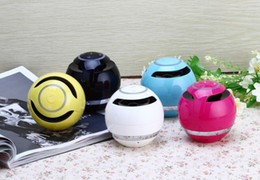 Wholesale Card Shaped Speaker - YST 175 Bluetooth Speakers Portable Ball Shape Mini Wireless Stereo Music Players Support Hands Free Calling TF Card 30pcs up