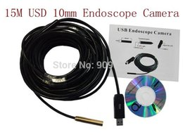 Wholesale Ip Camera Factory - Factory Price Brand New 15M Min USB 2.0 IP*67 Waterpoof 4*LED 480P 10mm CMOS Endoscope Camera Free Shipping
