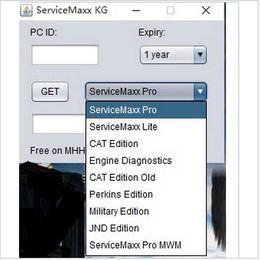 Wholesale Volvo Key Programming Tool - International ServiceMaxx 2016 diagnostic and programming service tool J1939\J1708 (Offline)+keygen