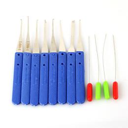 Bonne qualité KLOM 12 pcs cassé clé extracteur clé choisir serrure set serrurier outils enlèvement crochets aiguille ? partir de fabricateur