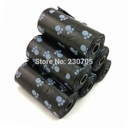 Wholesale Rolling Dog Carriers - Wholesale-200pcs= 10 Rolls Biodegradable Pet Dog Waste bags Poop Pooper Scoopers for Bags on Board, 20pc roll,22*31cm, Wholesale Free Ship