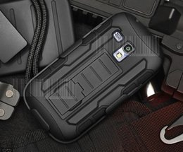Wholesale Cover Protection For Galaxy S4 - Future Armor Rugged Defender Holster Belt Clip Protection Hybrid Kickstand Case For Samsung Galaxy s3 S4 mini S7 Edge Plus Cover Shockproof