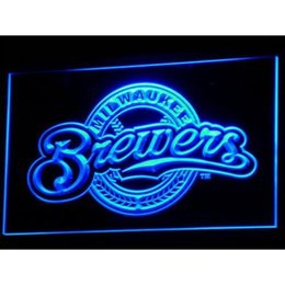 Wholesale custom gift cards - Milwaukees LED Neon Sign Light Custom Neon Signs led signs Design Your Own Bar Signs Gift Mix Order Custom Any LED Light A1