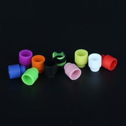 Puntas de goteo protank online-Las más nuevas puntas de silicona Puntas de goteo de orificio ancho para 510 EGO Atomizador Boquilla Kanger protank subtanque rda E Cigarrillos Vaporizador vape mods
