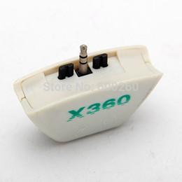 Argentina adaptador de convertidor de auriculares con auriculares de envío gratis para XBOX 360 auriculares / micrófono Suministro