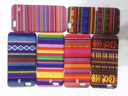 Wholesale Aztec Tribal Iphone Hybrid - For iphone 6 6S 4.7 Plus 5.5 5 5S Aztec Tribal Tribe Retro Vintage Leather Hybrid PC Plastic Hard Case Colorful Fashion Skin cover 10pcs