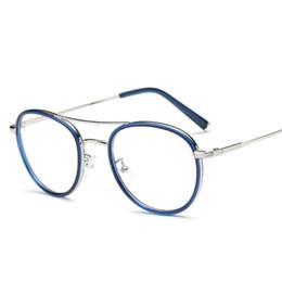 5406c8ed51 Venda por atacado - SOZO TU Moda Oversized Round 2 Beams Eyewear Quadro Luz  Cozy Men Women óculos ópticos Computer Glasses Spectacle Frame