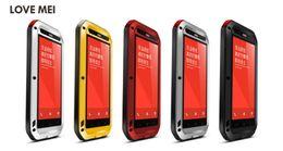 "Wholesale Metal Case For Xiaomi - For Xiaomi Redmi Note 5.5"" 2015 New Original LOVE MEI Powerful Waterproof Metal Case!"