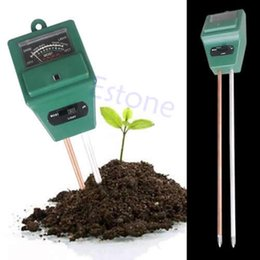 Wholesale Ph Tester Moisture Light Meter - Wholesale-Free Shipping 1PC 3in1 Plant Flowers Soil PH Tester Moisture Light Meter -PY-PY