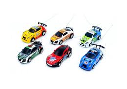 Wholesale Racer Rc - Free Epacket 8 color Mini-Racer Remote Control Car Coke Can Mini RC Radio Remote Control Micro Racing 1:64 Car 8803