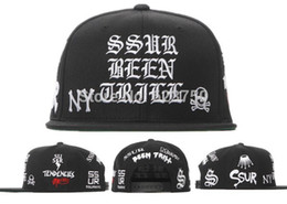 Wholesale Wholesale Ssur - Wholesale-2015 New SSUR BEEN TRILL Snapback Hats Black White Red Yellow Famous Brand Hip Hop Snapbacks Baseball Caps For Men Women Cap Hat