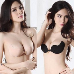 Wholesale Push Up Water Bras - Free shipping Not afraid to enter the water, stealth push up bra The best collocation with no shoulder strap swimsuit.