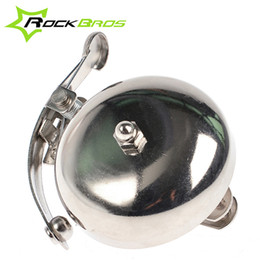 Wholesale Vintage Bike Horns - ROCKBROS Vintage Retro Outdoor Sports Mountain Bike Bicycle Accessories Cycling Alarm Handlebar Copper Ring Bell Horn, 2 Colors 283