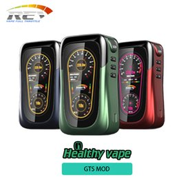Wholesale Beautiful Sports - Original REV GTS 230W Box Mod Powered by Dual 18650 Batteries with HD Screen Beautiful Ergonomic Design Ecig Vape Mod update Sport 101W