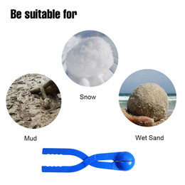 Wholesale Wholesale Sand Toys - Winter Sports Toy Snow Ball Maker Sand Mold Snowball Maker Sand Snowball Mold Tool For Winter Outdoor Play