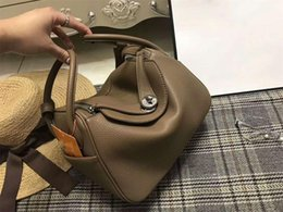 Wholesale Burgundy Purses - freeship Famous Designer brand Handbags High AAA quality purse split leather shoulder bags women Luxury Casual H messenger bag tote bag