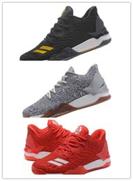 Wholesale Golf D - 2017 Fashion newest D Basketball Shoes Men Boots 7 Christmas Sneakers Derrick Rose Sports Athletics Sneaker
