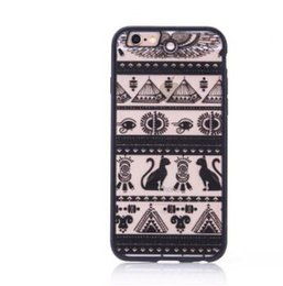 Wholesale Iphone 5s Cases Skull - For iphone 5 5s 6 6plus 7 7plus TPU + PC phone case Lace skull protective shell
