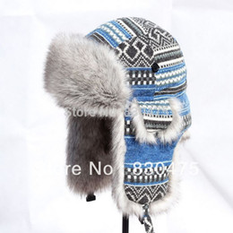 Wholesale Lei Feng Hat - Wholesale-New arrival lei feng cap female ear protector cap winter cap hat winter warm skiing hat
