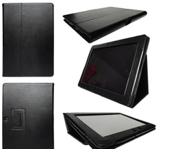Wholesale China Wholesale Note Cases - HOT SALE Flip Litchi Grain Line PU Leather Stand Back Cover Case For Samsung Galaxy Note 10.1 N8000
